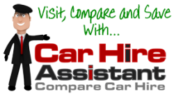Compare car hire with Car Hire Assistant