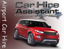 Compare airport car hire prices